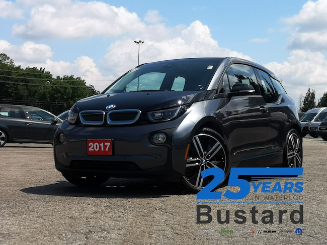 2017 BMW i3 w/Range Extender| LEATHER | NAVIGATION | SUNROOF |  Hatchback