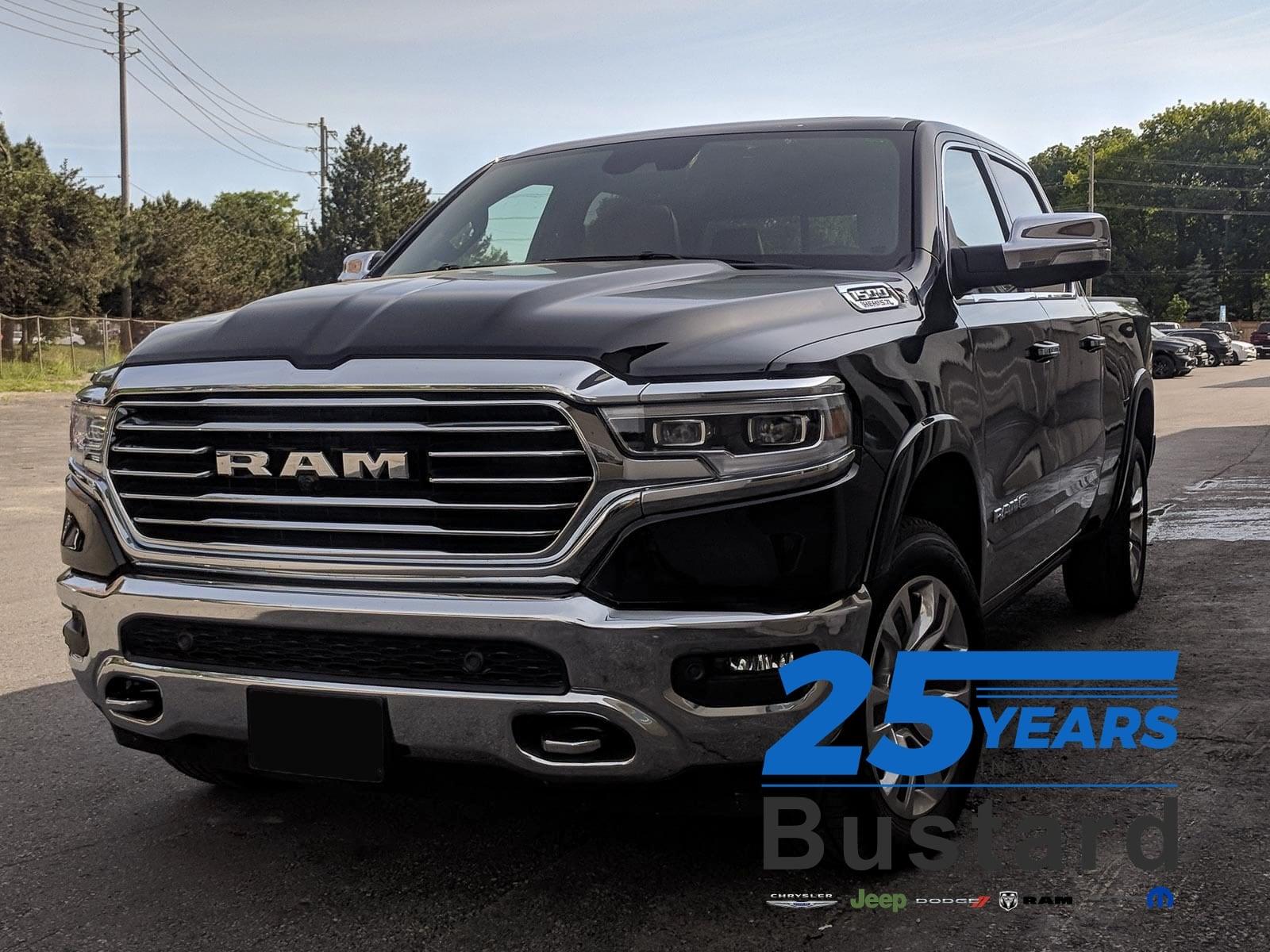 2019 Ram 1500 LONGHORN | LEATHER | NAV | HARMAN KARDAN Truck Crew Cab