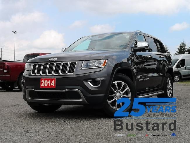 2014 Jeep Grand Cherokee Limited |LEATHER | HEATED SEATS | SUNROOF | SUV