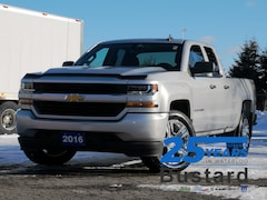 2016 Chevrolet Silverado 1500 CUSTOM | 4x4 | BLUETOOTH | V8 Truck Double Cab