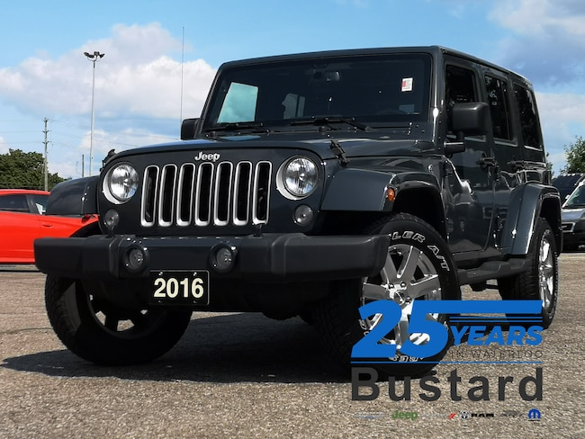 2016 Jeep Wrangler Unlimited Sahara | LEATHER | NAVIGATION | AUTOMATIC | SUV