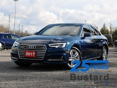 2017 Audi A4 TECKNIK | NAVI | SUNROOF | ACTIVE CRUISE Sedan