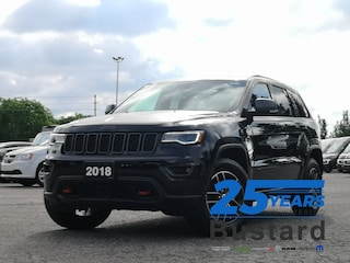 2018 Jeep Grand Cherokee Trailhawk | ACTIVE SAFETY | REAR DVD | SUV