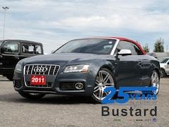 2011 Audi S5 3.0 Premium | AWD | Convertable | Leather | Naviga Cabriolet