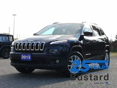 2015 Jeep Cherokee North   4X4   Heated Steering Wheel   Back Up Came SUV