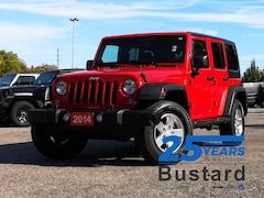 2014 Jeep Wrangler Unlimited Sport | Auto | Hard Top | Bluetooth SUV