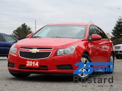2014 Chevrolet Cruze 1LT | BLUETOOTH | REMOTE START | AUTO Sedan