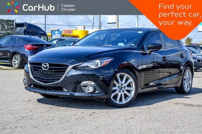 2015 Mazda Mazda3 GT|Navi|Sunroof|Backup Cam|Bluetooth|Heated Front Sedan