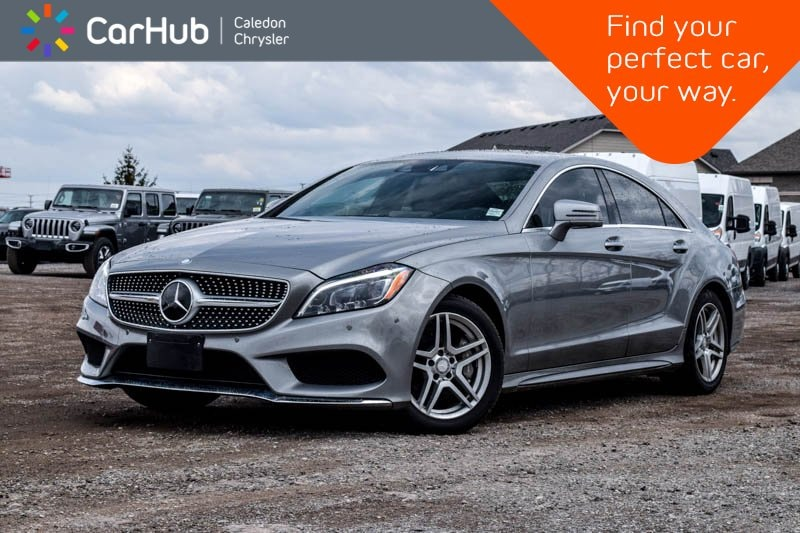 Used 2015 Mercedes-Benz CLS-Class CLS 400|AWD|Navi|Sunroof