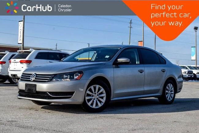 2013 Volkswagen Passat Trendline Bluetooth  Heated Front Seats Keyless En Sedan