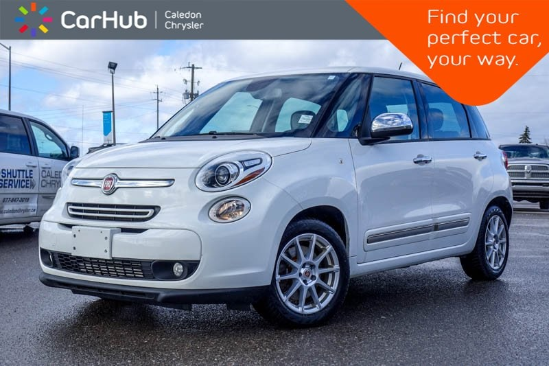 Used 2014 FIAT 500L Lounge|Pano Sunroof|Backup Cam|Bluetooth|Leather|H Hatchback in Bolton, ON
