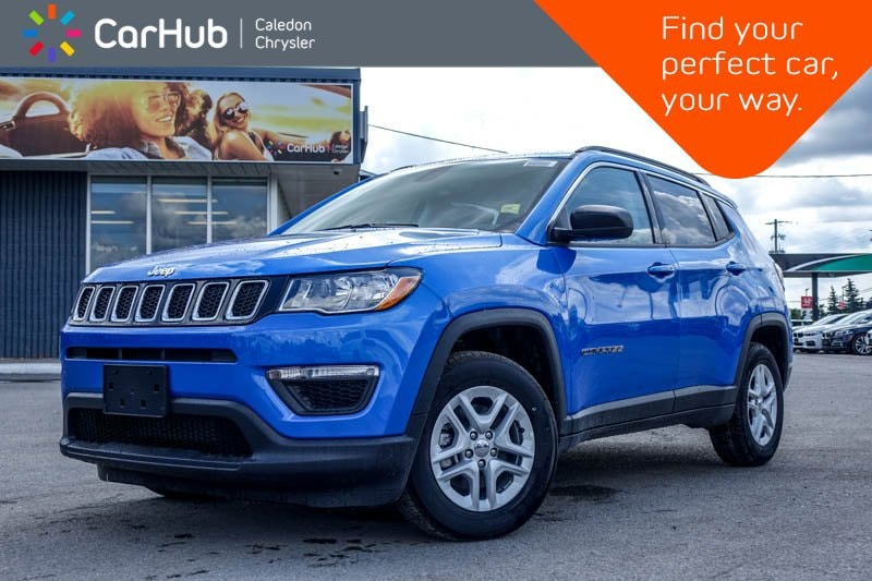 New 2019 Jeep Compass New Car Sport|Bluetooth|Backup Cam|Heated Front Se SUV in Bolton, ON