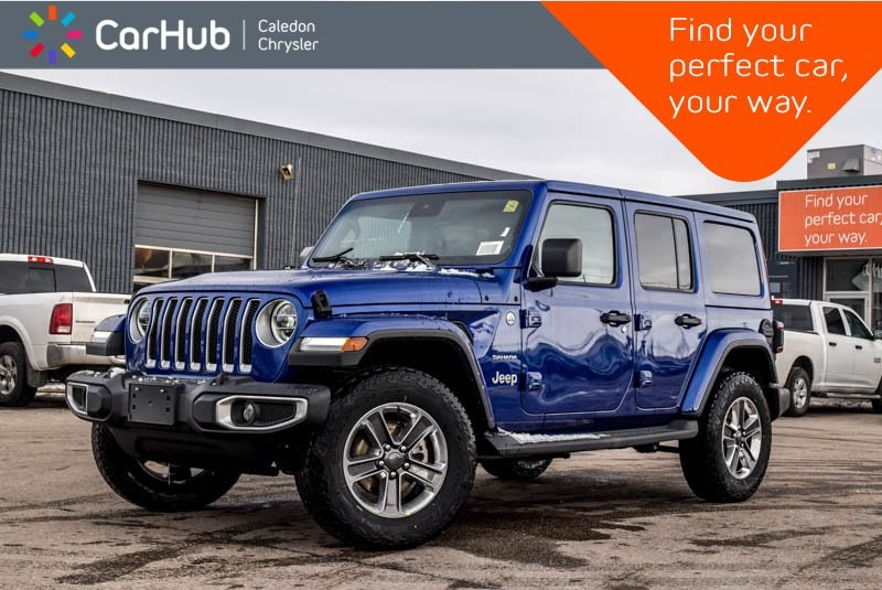 New 2019 Jeep Wrangler Unlimited New Car Sahara|4x4|Dual Top|Navi|Backup Cam|Blueto SUV in Bolton, ON