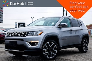 2019 Jeep Compass Limited 4x4 Navigation Panoramic Sunroof Bluetooth SUV