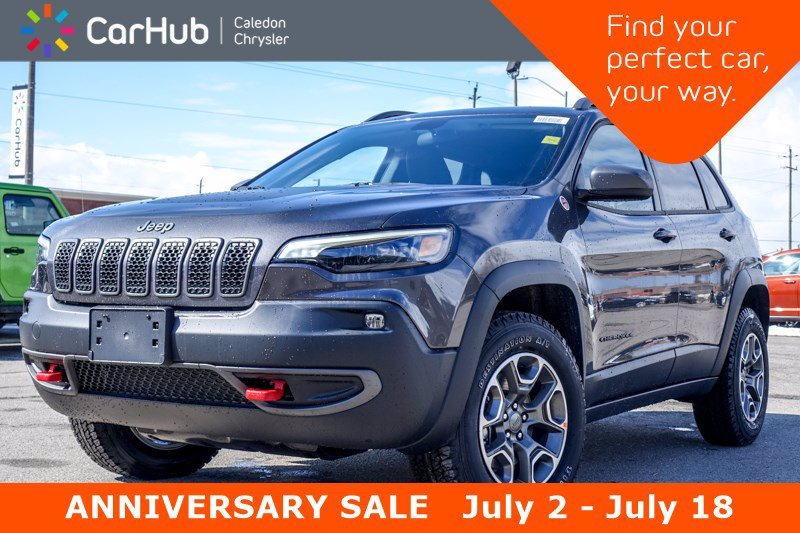 2020 Jeep Cherokee New Trailhawk 4x4 Backup Camera Bluetooth Cold Wea SUV