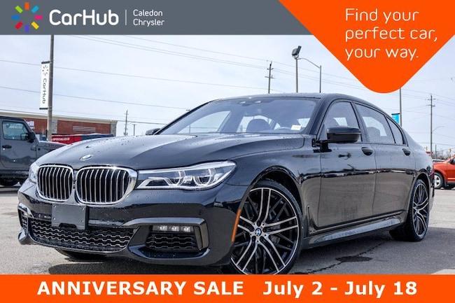2018 BMW 7 Series 750Li xDrive AWD Only 4285 Km Navigation DVD Panor Sedan