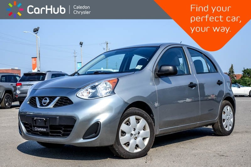 Used 2015 Nissan Micra S|AM/FM/CD Sedan in Bolton, ON