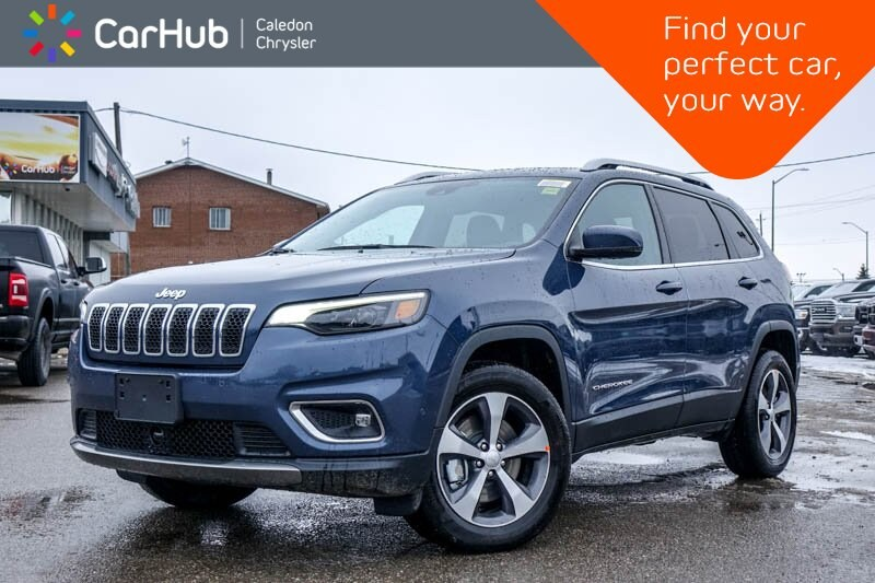 New 2020 Jeep Cherokee New Car Limited 4x4 Bluetooth Backup Cam Blind Spo SUV in Bolton, ON