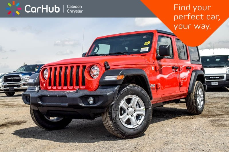 2019 Jeep Wrangler Unlimited New Car Sport S|4x4|Dual Top|Backup Cam|Bluetooth| SUV