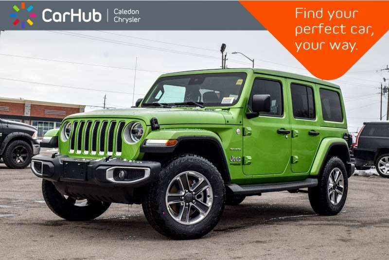 New 2019 Jeep Wrangler Unlimited New Car Sahara|4x4|Power Sky Roof|Navi|Backup Cam| SUV in Bolton, ON