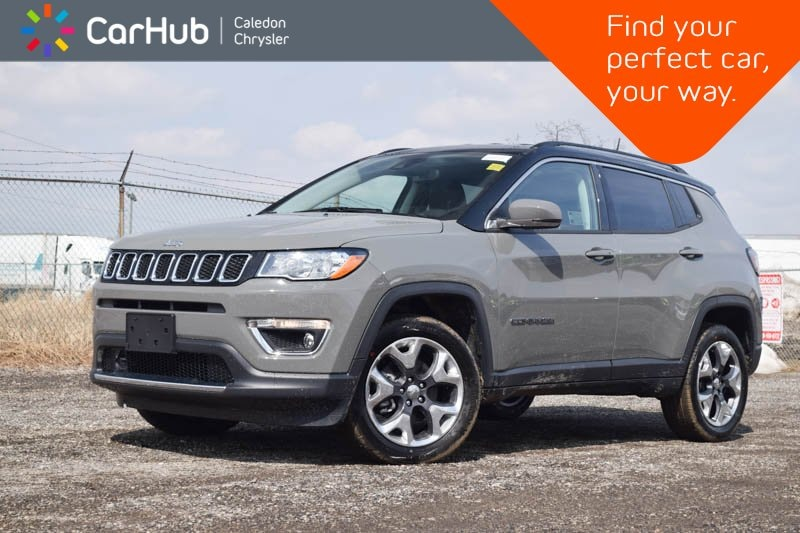 New 2019 Jeep Compass New Car Limited 4x4|Bluetooth|Backup Cam|R-Start|B SUV in Bolton, ON