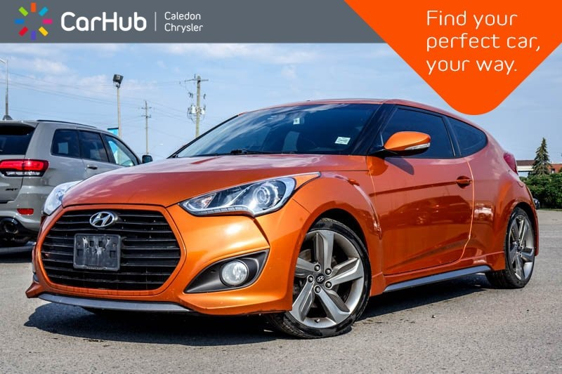 Used 2013 Hyundai Veloster Turbo|Navi|Pano Sunroof|Bluetooth|Backup Cam|Heate Coupe in Bolton, ON