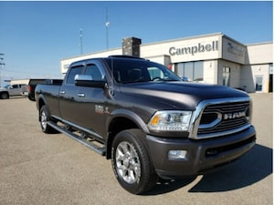 2017 Ram 2500 Laramie Longhorn - Navigation -  Leather Seats Crew Cab