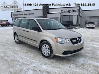 2015 Dodge Grand Caravan Canada Value Package Van
