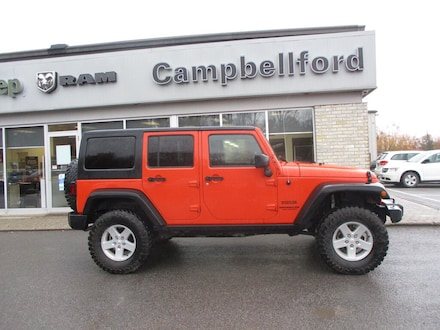2015 Jeep Wrangler Unlimited Air Conditioning Hard Top Power Windows SUV