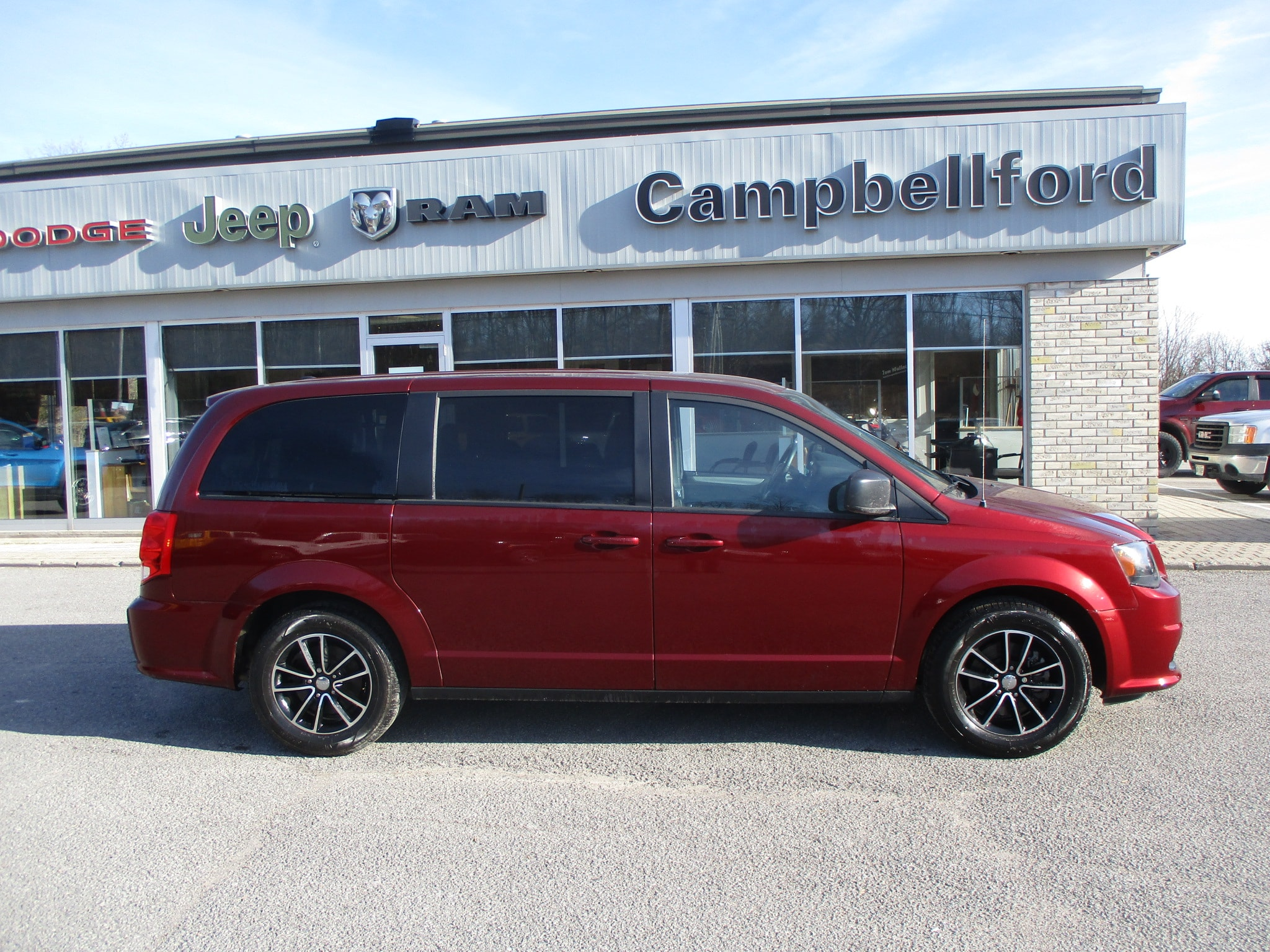 2019 Dodge Grand Caravan Quad Seating Rear Air & Heat Power Window Grou Mini-Fourgonnette