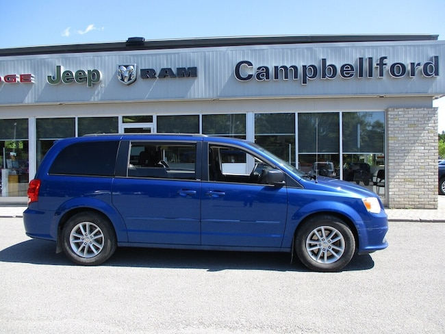 2013 Dodge Grand Caravan Bluetooth Quad Seating Rear Air & Heat Minivan