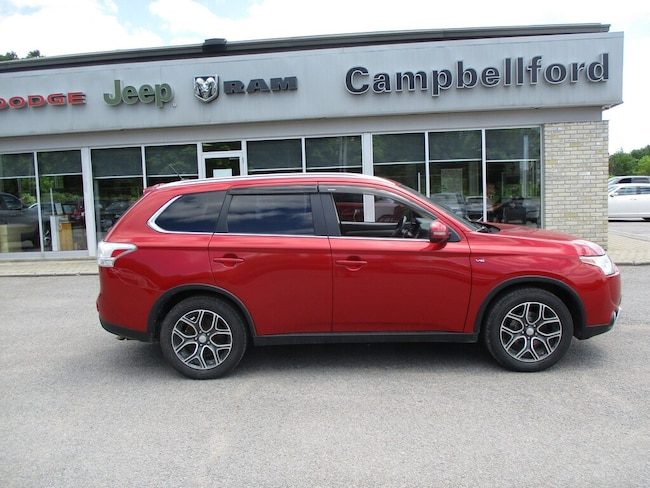 2015 Mitsubishi Outlander GT Heated Seats Leather AWD SUV