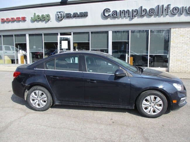 2015 Chevrolet Cruze Air Conditioning Bluetooth Sunroof Sedan