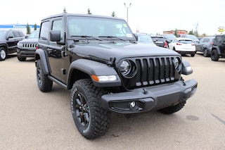 New 2020 Jeep Wrangler Willys Edition SUV for sale in Camrose, AB
