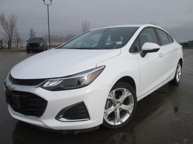 Featured Used 2019 Chevrolet Cruze Premier Sedan for sale in Camrose, AB.