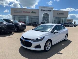 Used 2019 Chevrolet Cruze Premier Sedan for sale in Camrose, AB.