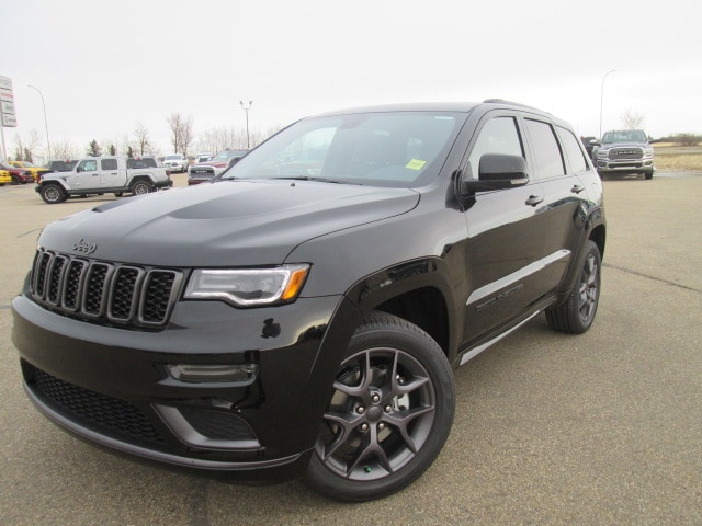 Featured Used 2020 Jeep Grand Cherokee Limited X SUV for sale in Camrose, AB.