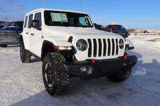 New 2021 Jeep Wrangler Unlimited Rubicon 4x4 Sport Utility for sale in Camrose, AB