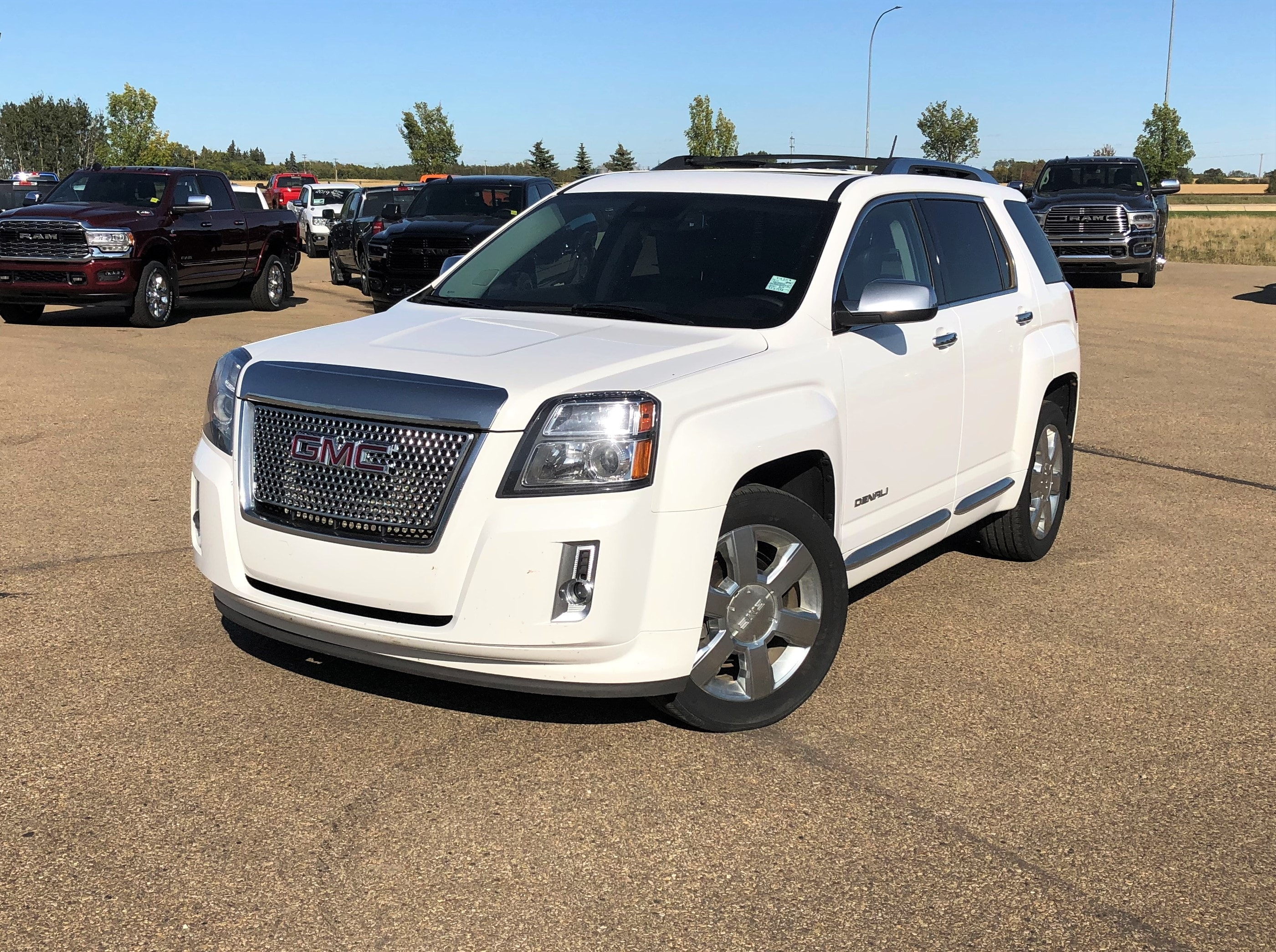 Featured Used 2014 GMC Terrain Denali SUV for sale in Camrose, AB.
