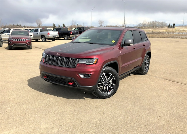 new 2019 Jeep Grand Cherokee Trailhawk SUV For Sale/Lease Camrose, AB