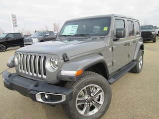 New 2020 Jeep Wrangler Unlimited Sahara SUV for sale in Camrose, AB