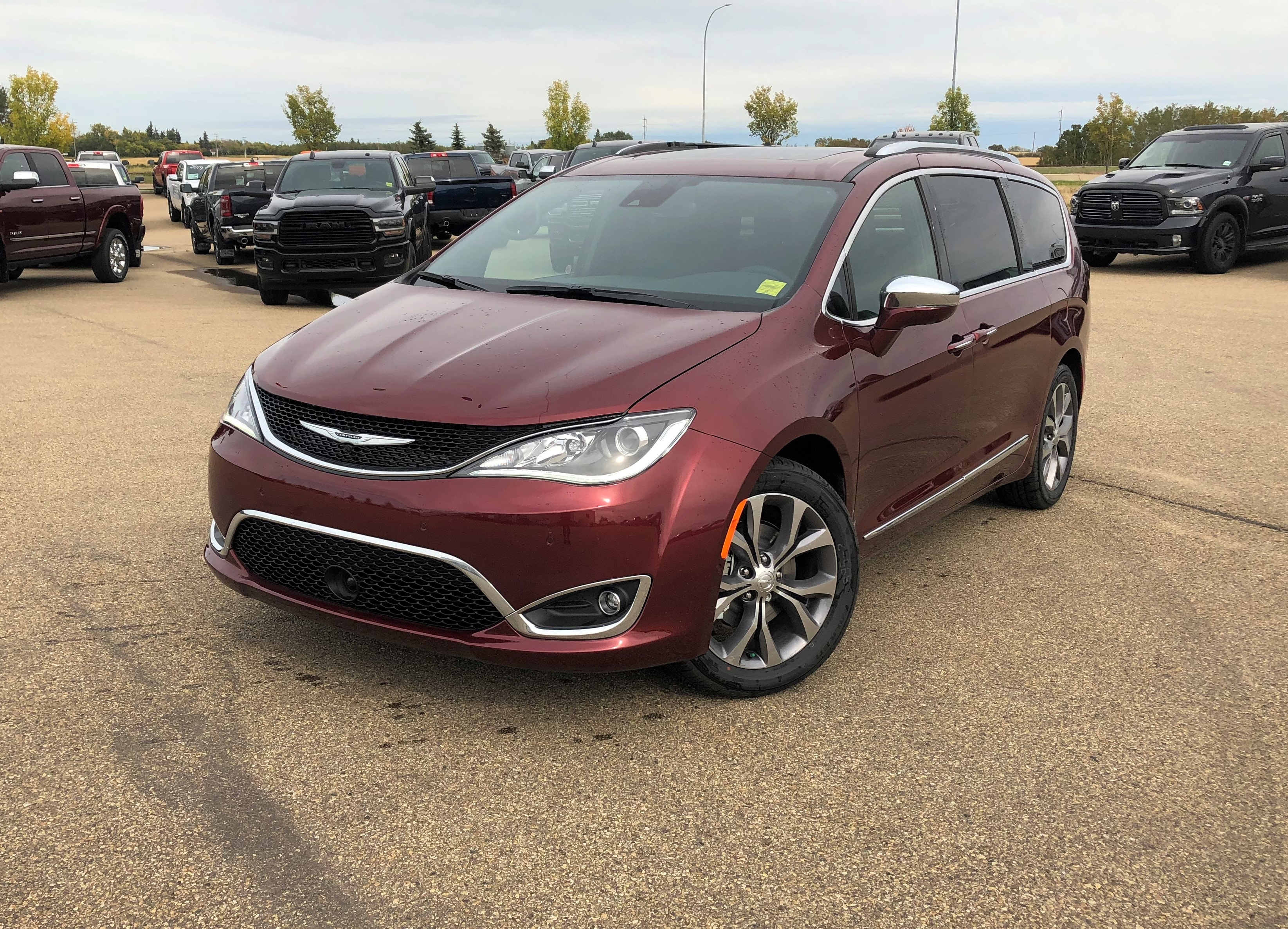 Featured new 2020 Chrysler Pacifica Limited 35th Anniversary Edition Van for sale in Camrose, AB