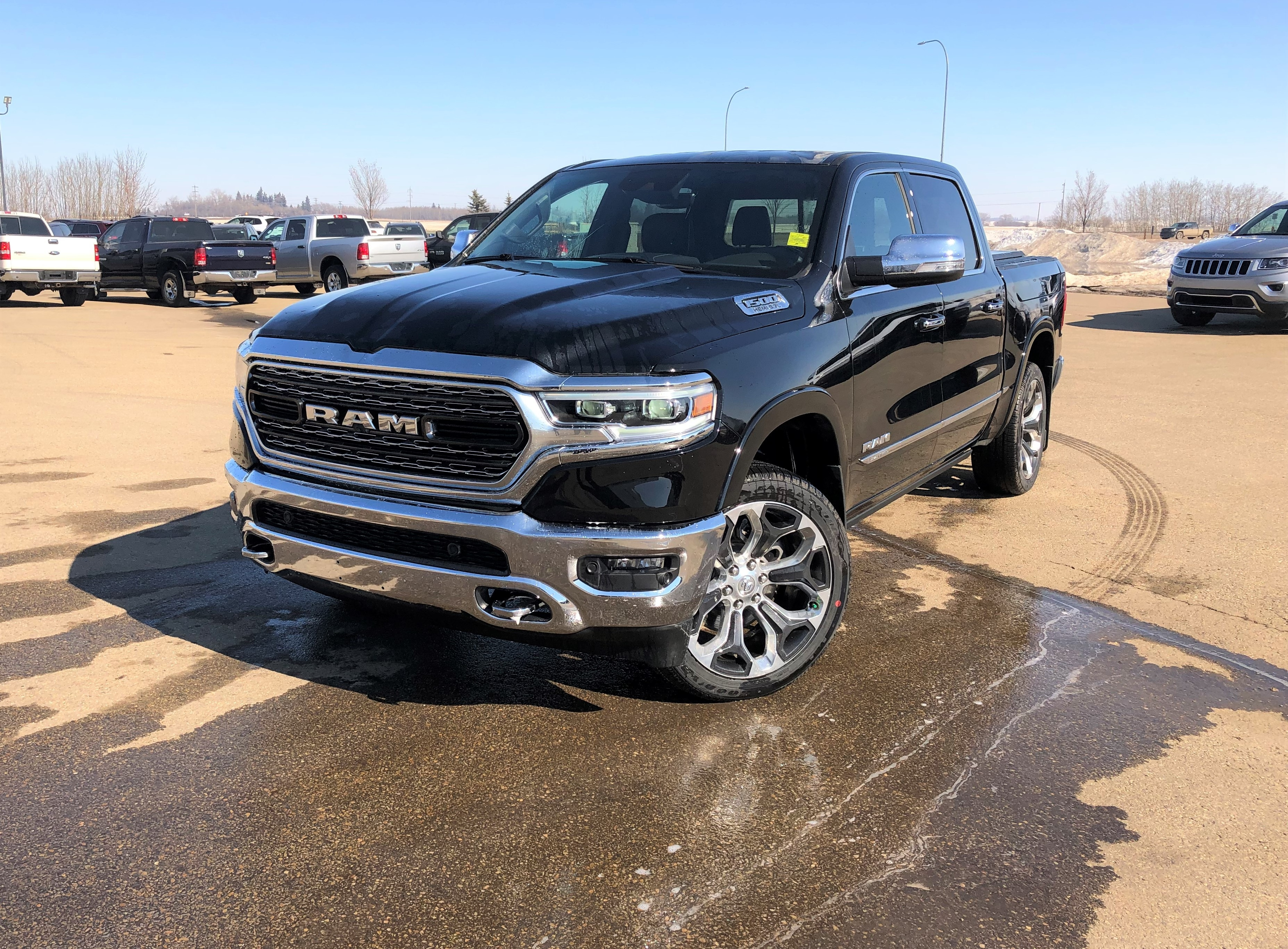 Featured new 2019 Ram All-New 1500 Limited Truck Crew Cab for sale in Camrose, AB