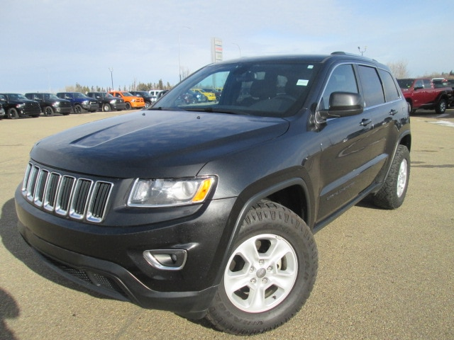 Featured Used 2016 Jeep Grand Cherokee Laredo SUV for sale in Camrose, AB.