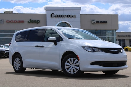Featured new 2021 Chrysler Grand Caravan SE DEMO SAVE $$$ Van for sale in Camrose, AB