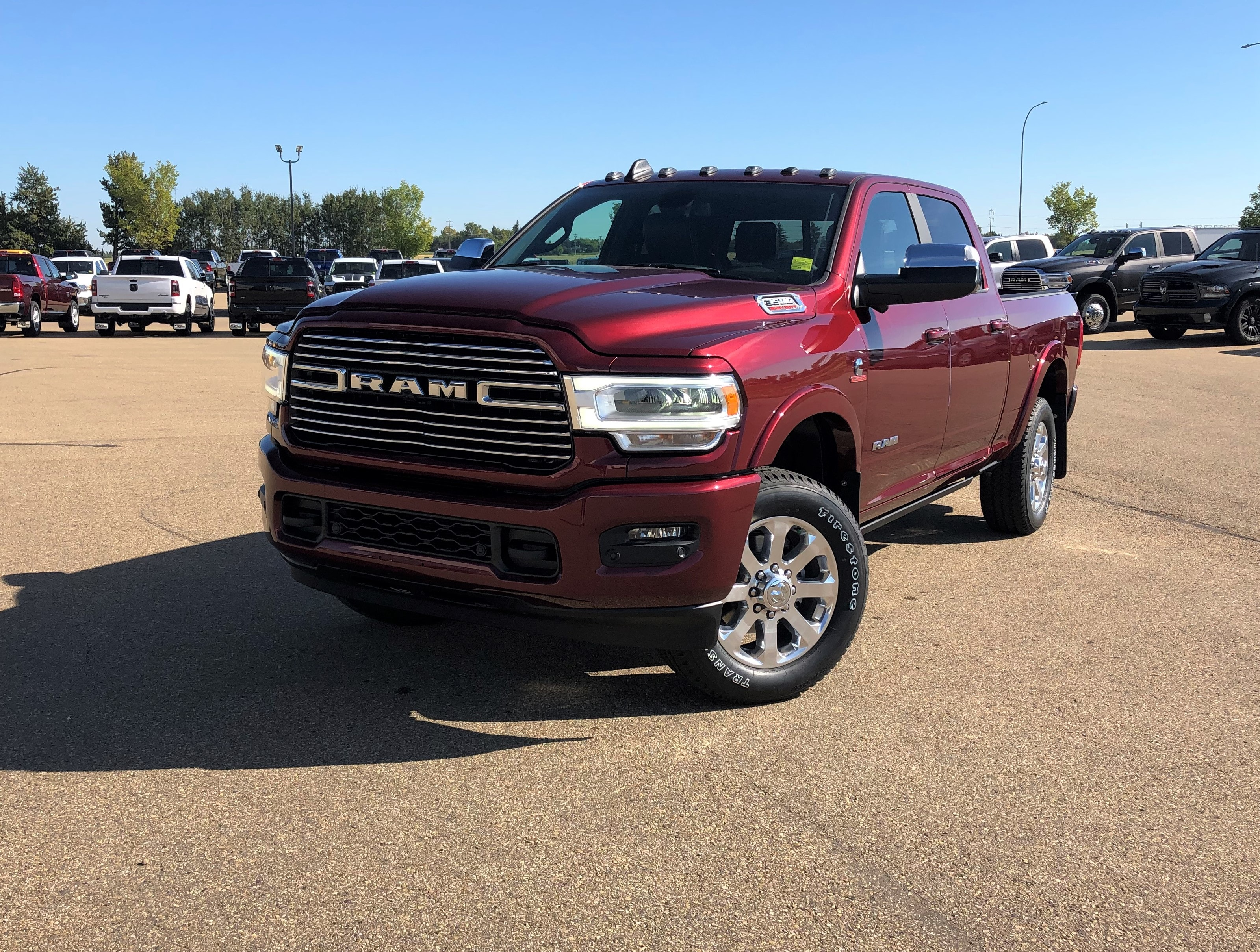 Featured new 2019 Ram New 3500 Laramie Sport Truck Crew Cab for sale in Camrose, AB
