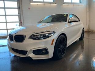 2018 BMW 2 Series AWD! Leather! NAV! Heated Seats! Sunroof! Coupe