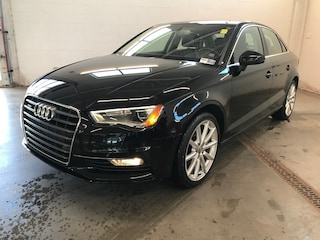 2015 Audi A3 2.0T Technik - AWD! Leather INT! Heated Seats! Sedan
