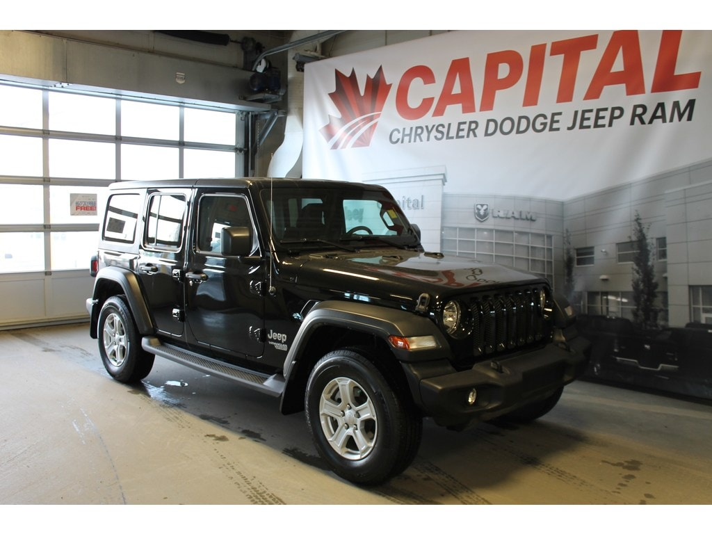 2018 Jeep Wrangler Unlimited Sport   Bluetooth   Back up Camera   Tow SUV