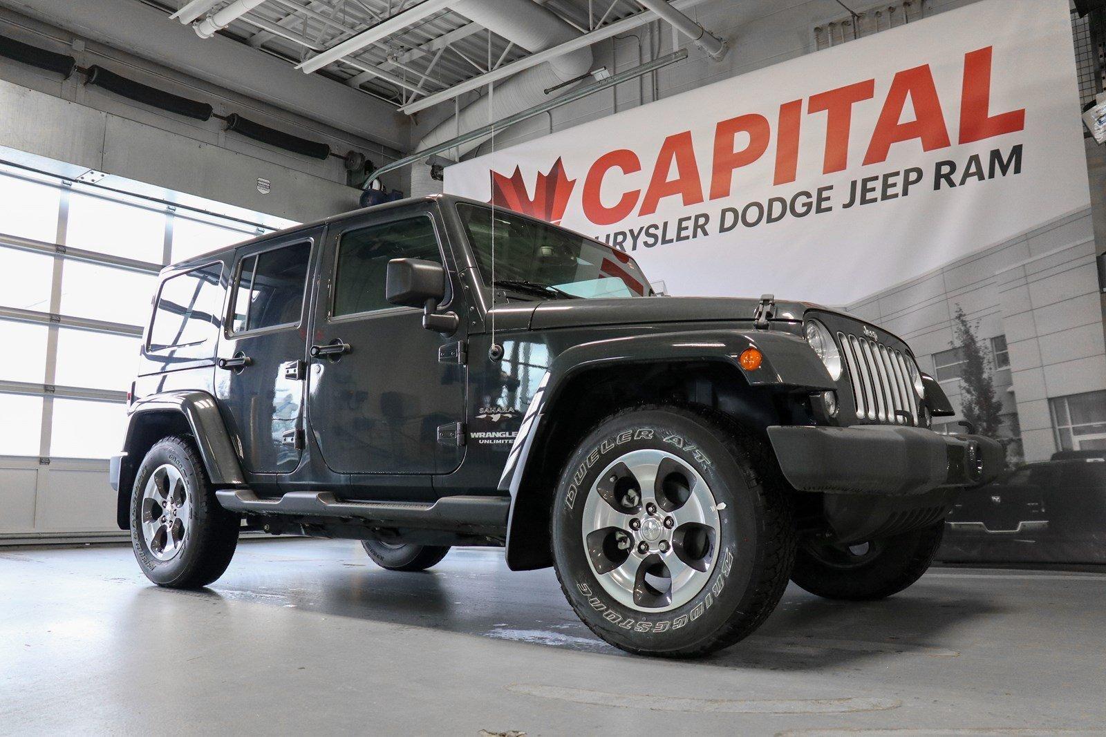 2017 Jeep Wrangler JK Sahara | GPS Navigation | 5-Speed Auto | SUV